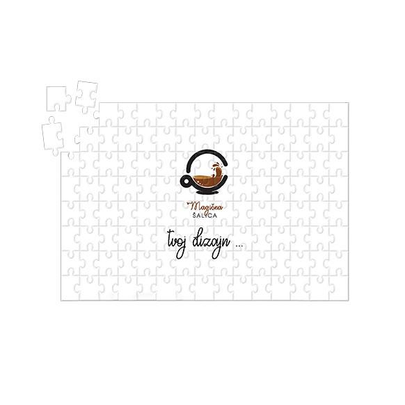 Personalizirane puzzle s tvojom slikom i natpsiom