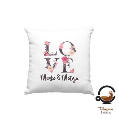 Personalizirani jastuk love